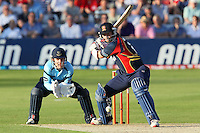 Graham Napier in batting action for Essex - Essex Eagles vs Sussex Sharks - Friends Life T20 Cricket at the Ford County Ground, Chelmsford, Essex - 28/06/12 - MANDATORY CREDIT: Gavin Ellis/TGSPHOTO - Self billing applies where appropriate - 0845 094 6026 - contact@tgsphoto.co.uk - NO UNPAID USE.