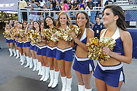 17 September 2011:  FIU's Golden Dazzlers wait to welcome the team to the field prior to the game.  The FIU Golden Panthers defeated the University of Central Florida Golden Knights, 17-10, at FIU Stadium in Miami, Florida.