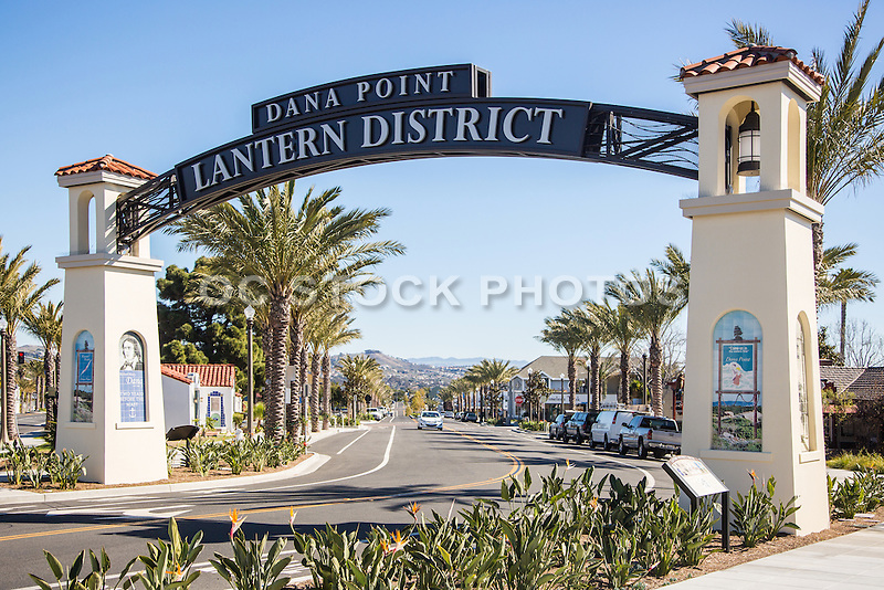 Dana Point Lantern District Gateway Arch
