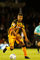 Fraizer Campbell of Hull City in action during the Sky Bet Championship match between Fulham and Hull City at Craven Cottage, London, England on 13 September 2017. Photo by Carlton Myrie.