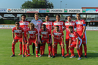 20190626 - OUDENAARDE , BELGIUM : Mouscron's team pictured during a friendly game between KSV Oudenaarde and Royal Excelsior Mouscron Moeskroen during the preparations for the 2019-2020 season , Wednesday 26 June 2019 ,  PHOTO STIJN AUDOOREN | SPORTPIX.BE