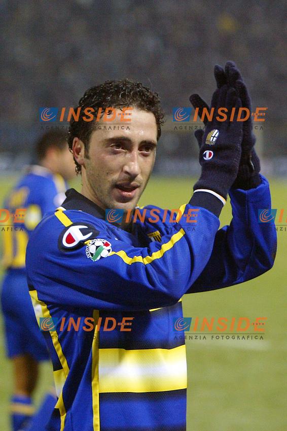 Parma 10/1/2004<br /> Parma Inter 1-0<br /> domenico Morfeo (Parma)<br /> Photo Andrea Staccioli Insidefoto