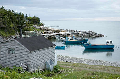 Josephine's Cove, Newfoundland, fishing harbour