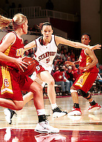 STANFORD, CA - FEBRUARY 5: Christina Batastini of the Stanford Cardinal during Stanford's 69-56 win over the USC Trojans on February 5, 2000 at Maples Pavilion in Stanford, California.