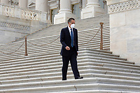 United States Senator Mitt Romney (Republican of Utah) leaves the United States Capitol in Washington D.C., U.S. on Thursday, May 21, 2020. Credit: Stefani Reynolds / CNP /MediaPunch