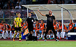 Manchester City Manager Pep Guardiola (r) during the match between Borussia Dortmund for the 2016 International Champions Cup China match at the Shenzhen Stadium on 28 July 2016 in Shenzhen, China. Photo by Marcio Machado / Power Sport Images