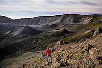 """The House of the Sun"" Cinder Cones in Haleakala Crater, Maui, Hawaii"
