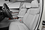 Front seat view of 2016-2017 Acura RLX Sport Hybrid 4 Door Sedan front seat car photos
