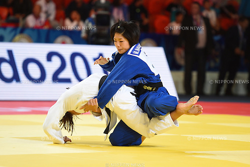 Misato Nakamura (JPN), AUGUST 25, 2015 - Judo : World Judo Championships Astana 2015 Women's -52kg 2nd round at Alau Ice Palace in Astana, Kazakhstan. (Photo by AFLO SPORT)