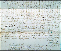 BNPS.co.uk (01202 558833)<br /> Pic: StroudAuctionRooms/BNPS<br /> <br /> As English and Scottish politicians square off once again the emergence of a 300-year-old letter penned in the wake of the Battle of Culloden provides a stark sense of perspective. <br /> <br /> The letter contains a graphic account by a rebel of the Jacobite rising of 1745 days after the bloody and brutal conflict, which was the last battle to be fought on British soil.<br /> <br /> British loyalists led by William Augustus, Duke of Cumberland, defeated Scotland's Charles Edward Stuart's rebels, putting an end to 'Bonnie Prince Charlie's' dreams of taking the throne.<br /> <br /> The savagery of the battle and state of complete chaos that existed in the aftermath is revealed within this letter sent by defeated William Chaloner from the Highlands battlefield. The letter is now up for sale.