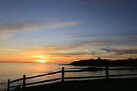 Sunset  over Pebble Beach course at the end of Saturday's Round 3 of the 2018 AT&amp;T Pebble Beach Pro-Am, held over 3 courses Pebble Beach, Spyglass Hill and Monterey, California, USA. 10th February 2018.<br /> Picture: Eoin Clarke | Golffile<br /> <br /> <br /> All photos usage must carry mandatory copyright credit (&copy; Golffile | Eoin Clarke)