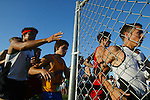 During the start of the Five Star Conference for the cross country championships runners prepare to round a fence Tuesday, October 23, 2007, at Sperling Sports Complex in DeLand. (Daytona Beach News-Journal, Chad Pilster).**ALSO FOR VOL AND PCN**