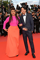 Ava Du Vernay &amp; Chang Chen at the gala screening for &quot;BLACKKKLANSMAN&quot; at the 71st Festival de Cannes, Cannes, France 14 May 2018<br /> Picture: Paul Smith/Featureflash/SilverHub 0208 004 5359 sales@silverhubmedia.com