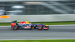 Red Bull Racing driver Mark Webber of Australia speeds his RB8 car during the F1 Grand Prix du Canada at the Circuit Gilles-Villeneuve on June 08, 2012 in Montreal, Canada. Photo by Victor Fraile / The Power of Sport Images