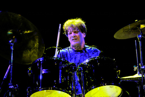 Bruce Trower Husband - drummer Gary Husband - performing live at Shepherds Bush Empire l, London - 05 August 2009<br /> .  Photo credit: George Chin/IconicPix