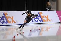SCHAATSEN: SALT LAKE CITY: Utah Olympic Oval, 15-11-2013, Essent ISU World Cup, 1500m, Hyong-Jun Joo (KOR), ©foto Martin de Jong