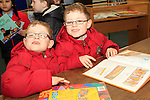 "Jason and Josh Campbell at the ""Drogheda Counts"" workshop in the Library...Photo NEWSFILE/Jenny Matthews..(Photo credit should read Jenny Matthews/NEWSFILE)"