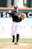 May 23, 2009:  Shortstop Mark Kiger of the Buffalo Bisons, International League Triple-A affiliate of the New York Mets, during a game at Coca-Cola Field in Buffalo, NY.  Photo by:  Mike Janes/Four Seam Images