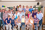 9778-9785.---------.Party time.----------.Dermuid(paunch)Lynch(seated centre)from Killeen Hts,Tralee,had a cracker for his 40th birthday celebration in the Kerin's O'Rahilly's GAA clubhouse,Strand Rd Tralee last saturday night with many friend's and family.087 2393658.