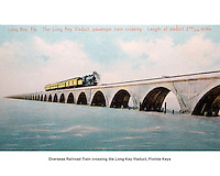 Overseas Railroad crossing the Long Key Viaduct