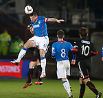 Lee McCulloch clears the danger