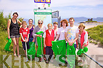 Keep our Beaches Clean - A beach clean up was organised for 5 south Kerry beaches on Saturday last Ballinskelligs, Rinn Rua, Loher, Waterville &  Inny Strand.  Pictured here at Ballinskelligs are some of the 30 volunteers who helped out l-r; Corelia Fellowes, Jack Landers, Emilia Main, Angelika Main, Ellie Cronin, Pauline Goggin, Colman Quirke, Darragh O'Driscoll & Barbra Cassidy, the event was sponsored by An Taisce's Coastcare.