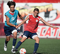 Emilio Orozco and Luis Gil training before the 2009 CONCACAF Under-17 Championship From April 21-May 2 in Tijuana, Mexico