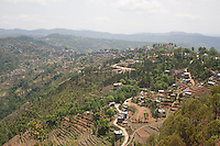 A destroyed village at Sindhupalchok, outskirt of Kathmandu, Nepal. May 1, 2015