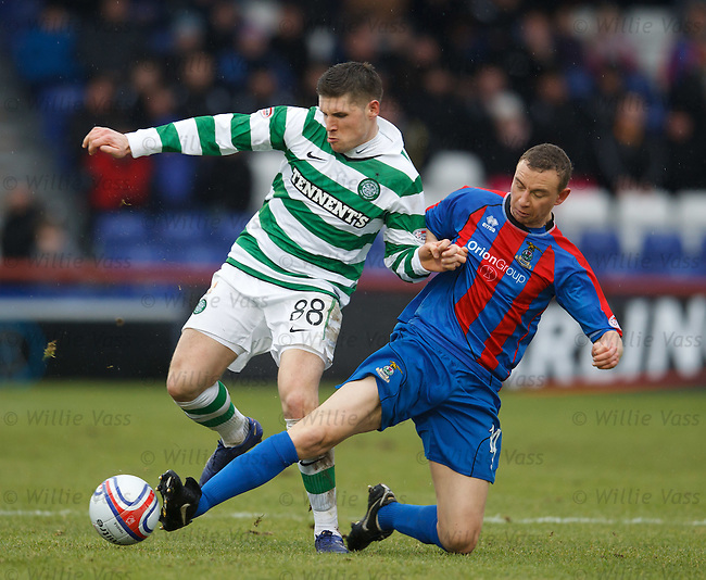 Gary Hooper and David Proctor