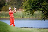 Ashun Wu (CHN) during the 2nd round at the Nedbank Golf Challenge hosted by Gary Player,  Gary Player country Club, Sun City, Rustenburg, South Africa. 09/11/2018 <br /> Picture: Golffile | Tyrone Winfield<br /> <br /> <br /> All photo usage must carry mandatory copyright credit (&copy; Golffile | Tyrone Winfield)