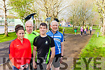 The first ever Park Run takes place in Listowel Town Park this Saturday morning. Pictured were: Miriam O'Keeffe, Jimmy Deenihan, Tim Segal and Ribald Pierse.