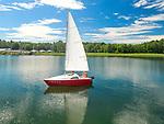 Letni wypoczynek nad jeziorem Necko, August&oacute;w, Polska<br /> Summer rest at Necko Lake, August&oacute;w, Poland