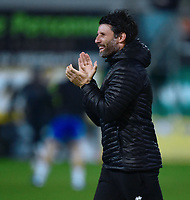Lincoln City manager Danny Cowley during the pre-match warm-up<br /> <br /> Photographer Andrew Vaughan/CameraSport<br /> <br /> The EFL Sky Bet League Two - Mansfield Town v Lincoln City - Monday 18th March 2019 - Field Mill - Mansfield<br /> <br /> World Copyright © 2019 CameraSport. All rights reserved. 43 Linden Ave. Countesthorpe. Leicester. England. LE8 5PG - Tel: +44 (0) 116 277 4147 - admin@camerasport.com - www.camerasport.com