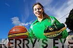 Courtney Ryan, Mounthawk , Tralee who got a place in the Irish U-16 Irish Basketball team