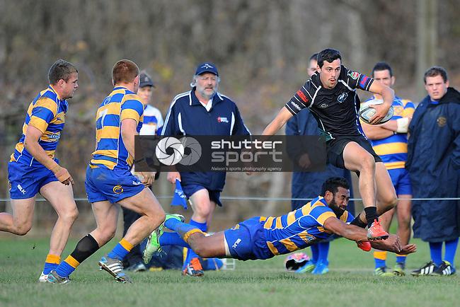 Division 1 Rugby Kahurangi v Wanderers. Riwaka Park, Motueka, Nelson, New Zealand. Saturday 5 July 2014. Photo: Chris Symes/www.shuttersport.co.nz