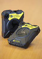 Two of the AXON bodycams. Wednesday 17 May 2017<br /> Re: Body worn video cameras are being introduced into the South Wales Police force as part of operational equipment and will be rolled out over the next few months.<br />  Forces across the UK are using this technology and integrating it into daily policing activities.  Body worn video may be used in court as evidence and for investigative purposes, including complaints against police or as a training material for police. <br />  Other forces have seen a range of benefits from using body worn video to support their general patrolling and investigative tasks. These benefits include:<br /> Gathering and presentation of evidence<br /> Changing the behaviour of offenders<br /> Lower incidence or escalation of violence<br /> Increased guilty pleas by defendants<br /> Increased time on patrol and less time spent on paperwork<br /> Improved public co-operation and interactions with police<br /> Improved transparency and accountability<br /> Professionalising police interaction<br /> Assistant Chief Constable Richard Lewis said: &ldquo;Equipping our officers with body worn cameras is the start of a new way we capture, utilise and share digital evidence.  The technology is very exciting and will assist officers and staff in doing their jobs, it will ensure that we are more accountable to the public that we serve and in turn build trust with our communities.