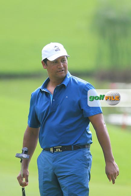 Michael Campbell (NZL) on the 15th on Day 1 of the Maybank Malaysian Open 2012 at Kuala Lumpur Golf and Country Club, Kuala Lumpur, Malaysia...(Photo Jenny Matthews/www.golffile.ie)