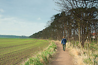 The John Muir Way near Dirleton, East Lothian