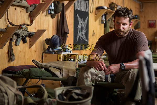 Bradley Cooper<br /> in American Sniper (2014) <br /> *Filmstill - Editorial Use Only*<br /> CAP/FB<br /> Image supplied by Capital Pictures