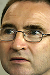 28 July 2004: Celtic manager Martin O'Neill. Glasgow Celtic of the Scottish Premier League defeated Manchester United of the English Premier League 2-1 at Lincoln Financial Field in Philadelphia, PA in a ChampionsWorld Series friendly match..