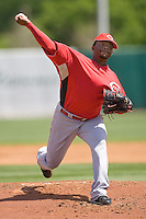 Cueto, Johnny 6889.jpg. Spring Training. Cincinnati Reds at Houston Astros. Spring Training Game. Friday March 20th, 2009 in Kissimmee., Florida. Photo by Andrew Woolley.