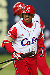 Frederich Cepeda (CUB), .February 27, 2013 - WBC : .2013 World Baseball Classic, Exhibithion Game .match between Cuba 3-2 Hanshin Tigers .at Kyocera Dome, Osaka, Japan..(Photo by AJPS/AFLO SPORT) [1045]