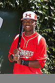 Outfielder Terry McClure (10) poses for a photo before the Under Armour All-American Game at Wrigley Field on August 18, 2012 in Chicago, Illinois.  (Copyright Mike Janes Photography)
