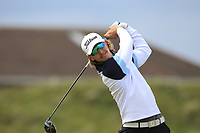 Santeri Lehesmaa (FIN) on the 5th tee during Round 1 of the The Amateur Championship 2019 at The Island Golf Club, Co. Dublin on Monday 17th June 2019.<br /> Picture:  Thos Caffrey / Golffile<br /> <br /> All photo usage must carry mandatory copyright credit (© Golffile | Thos Caffrey)