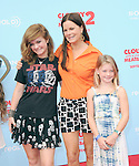 "Marcia Gay Harden and daughters at Sony Pictures Animation Los Angeles Premiere Of ""Cloudy With A Chance Of Meatballs 2"" held at The Regency Village Theatre in Westwood, California on September 21,2013                                                                   Copyright 2013 Hollywood Press Agency"