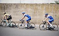 Remco Evenepoel (BEL/Deceuninck-Quickstep) hydrating<br /> <br /> 114th Il Lombardia 2020 (1.UWT)<br /> 1 day race from Bergamo to Como (ITA/231km) <br /> <br /> ©kramon