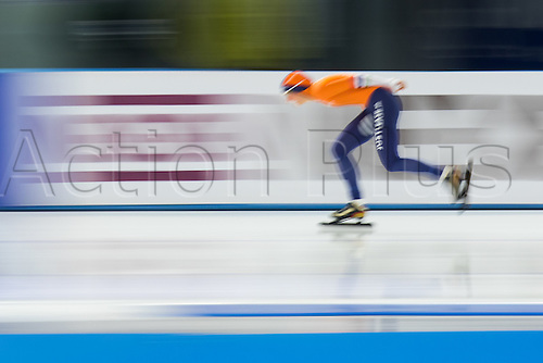 January 29th 2017, Sportforum, Berlin, Germany; ISU Speed Skating World Cup;  ISU Speed Skating World Cup , 3000m Division A; Melissa Wijfje (NED)