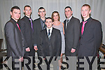 Moyvane GAA Socoial : Pictured at the Moyvane GAA social held a the Listowel Arms Hotel on Friday night last were Craig Sheehy, Niall Sheehan, Edmund Sweeney, Liam Heffernan, Catherine & Dan Hannon & Ciaran Sheehan.