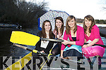 Muckross Rowers l-r: Maeve Daly, Seorcha Daly, Aoife Cooper and Shauna O'Sullivan reminding everyone that the Muckross Rowing club fashion show will be held the Killarney Oaks Hotel on March 11
