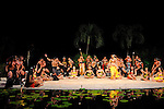 Danseurs polynésiens....Lieu : Tahiti..Le : 10/2009..© Laurent PAILLIER / photosdedanse.com..All rights reserved